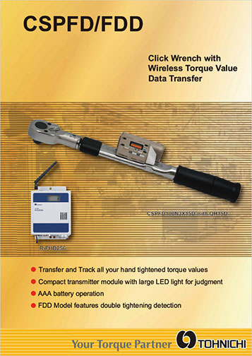 DD/FD Wireless Data Transfer Torque Wrench and Receiver