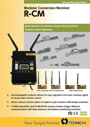 R-CM Wireless Receiver with Interchangeable Modules